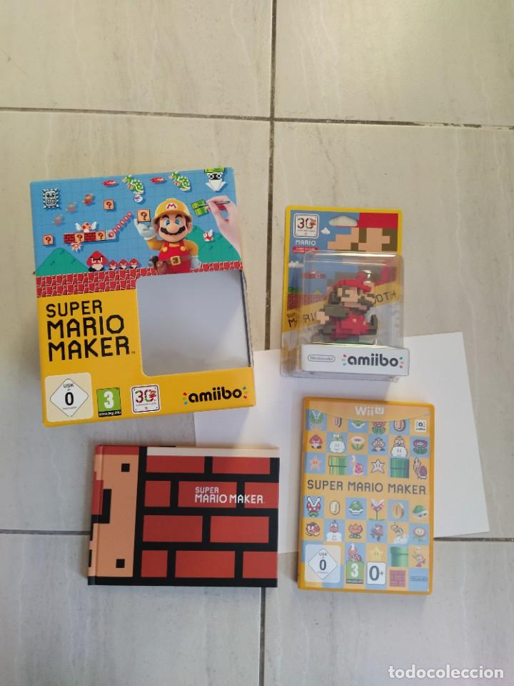 MARIO MAKER NINTENDO WII-U WIIU + AMIIBO PAL-EUROPE COMPLETO (Juguetes - Videojuegos y Consolas - Nintendo - Wii U)