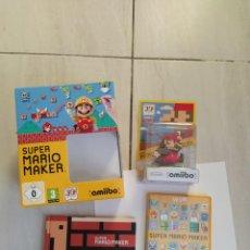 Nintendo Wii U: MARIO MAKER NINTENDO WII-U WIIU + AMIIBO PAL-EUROPE COMPLETO. Lote 247560150