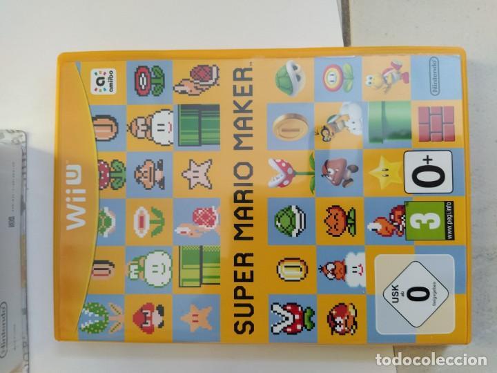 Nintendo Wii U: MARIO MAKER NINTENDO WII-U WIIU + AMIIBO PAL-EUROPE COMPLETO - Foto 4 - 247560150