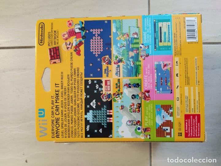 Nintendo Wii U: MARIO MAKER NINTENDO WII-U WIIU + AMIIBO PAL-EUROPE COMPLETO - Foto 8 - 247560150