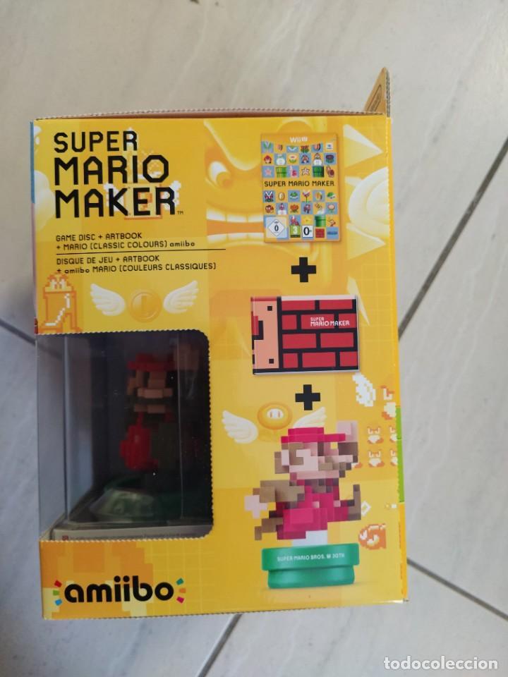 Nintendo Wii U: MARIO MAKER NINTENDO WII-U WIIU + AMIIBO PAL-EUROPE COMPLETO - Foto 10 - 247560150