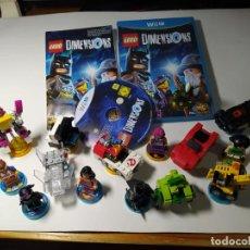 Videogiochi e Consoli: LEGO DIMENSIONS + PORTAL + 18/19 FIGURAS ( NINTENDO WII U - PAL ESPAÑA) ( PRECIOSO LOTE!). Lote 251261260