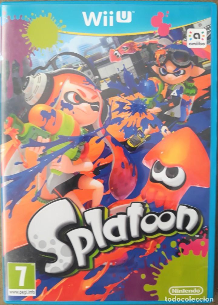 NINTENDO WIIU SPLATOON (Juguetes - Videojuegos y Consolas - Nintendo - Wii U)