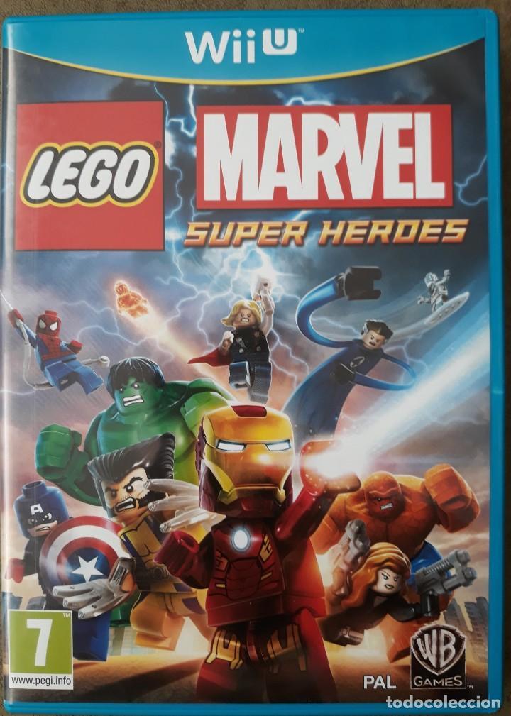 NINTENDO WIIU MARVEL SUPER HEROES (Juguetes - Videojuegos y Consolas - Nintendo - Wii U)