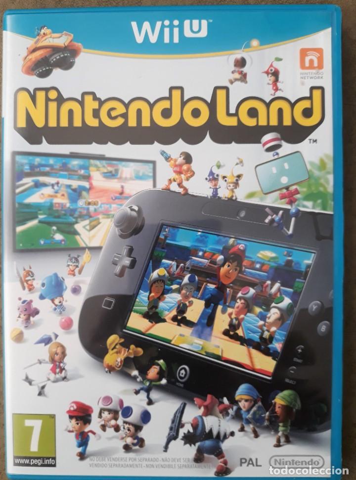 NINTENDO WIIU NINTENDOLAND (Juguetes - Videojuegos y Consolas - Nintendo - Wii U)
