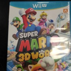 Nintendo Wii U: SUPER MARIO 3D WORLD - WII U NINTENDO - PAL ESP. Lote 252782585