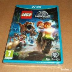 Nintendo Wii U: LEGO: JURASSIC WORLD PARA NINTENDO WII U ,A ESTRENAR, PAL. Lote 253166250