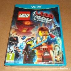 Nintendo Wii U: LEGOPELICULA : EL VIDEOJUEGO PARA NINTENDO WII U ,A ESTRENAR, PAL. Lote 253166315