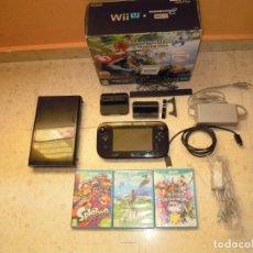 Nintendo Wii U: CONSOLA NINTENDO WII U PACK 32 GB MARIO KART 8+3 JUEGOS ZELDA BREATH OF THE ,SPLATOON Y SUPER SMASH. Lote 253304580