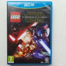 Nintendo Wii U: STAR WARS LEGO EL DESPERTAR DE LA FUERZA NINTENDO WII U. Lote 254584490