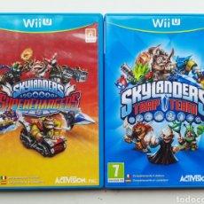 Nintendo Wii U: 2 JUEGOS SKYLANDERS SKY LANDERS NINTENDO WII U. Lote 254584990