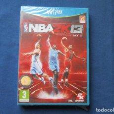 Nintendo Wii U: WII U - NBA2K13 BY JAY Z / NBA 2K13 / NBA 2K 13 / NBA2K 13 / PAL / NUEVO.. Lote 255329460