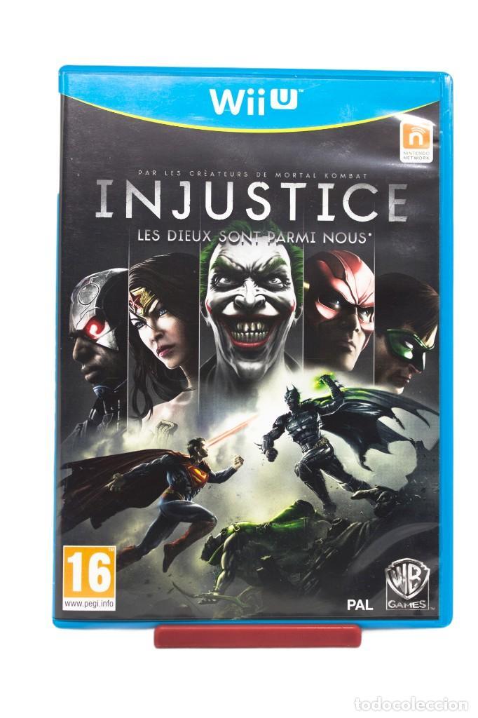 INJUSTICE WII U (Juguetes - Videojuegos y Consolas - Nintendo - Wii U)