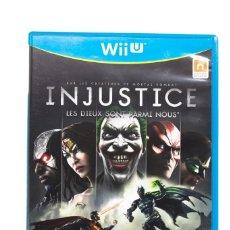 Nintendo Wii U: INJUSTICE WII U. Lote 255643220