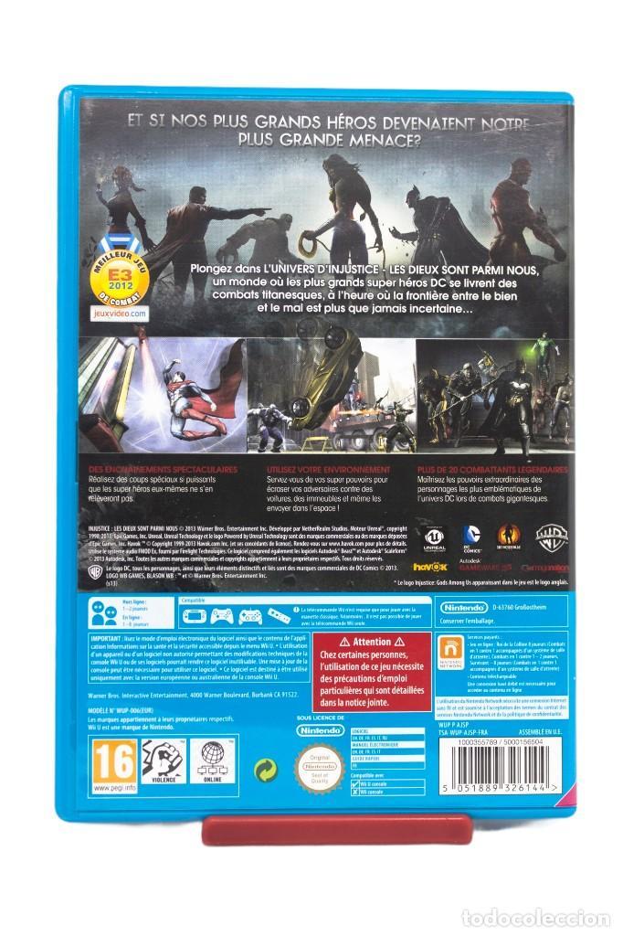 Nintendo Wii U: INJUSTICE WII U - Foto 3 - 255643220