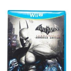 Nintendo Wii U: BATMAN ARKHAM CITY ARMORED EDITION WII U. Lote 255644395
