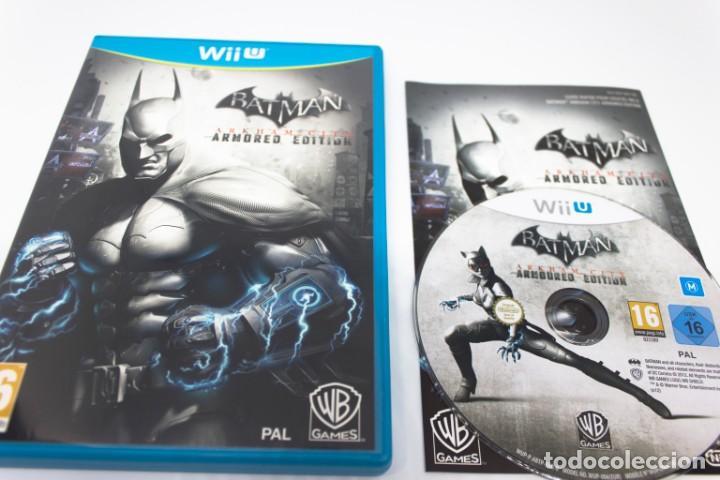 Nintendo Wii U: BATMAN ARKHAM CITY ARMORED EDITION WII U - Foto 2 - 255644395