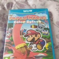Videogiochi e Consoli: PAPER MARIO COLOR SPLASH WII U. Lote 257797350