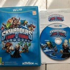 Nintendo Wii U: SKYLANDERS TRAP TEAM NINTENDO WIIU KREATEN WII-U. Lote 259837490