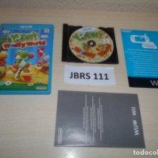 Nintendo Wii U: WII U - YOSHI,S WOOLLY WORLD , PAL ESPAÑOL , COMPLETO. Lote 262455775