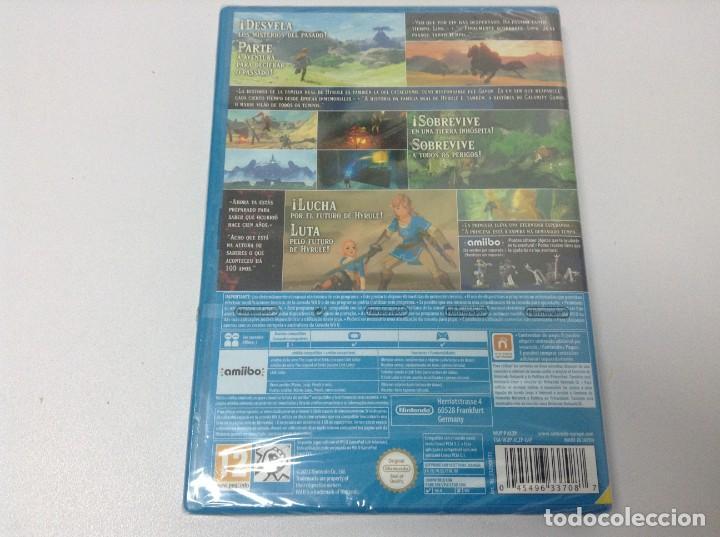 Nintendo Wii U: THE LEGEND OF ZELDA BREATH OF THE WILD - Foto 3 - 267708794