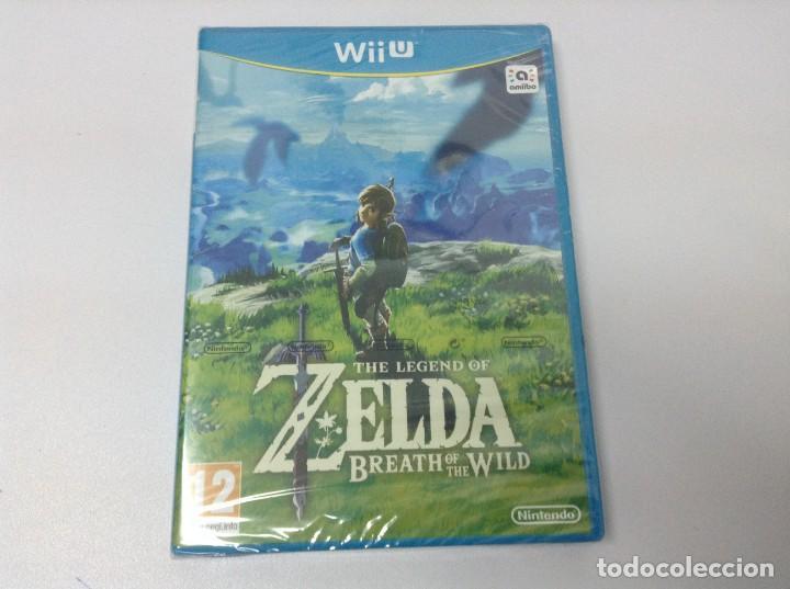 THE LEGEND OF ZELDA BREATH OF THE WILD (Juguetes - Videojuegos y Consolas - Nintendo - Wii U)