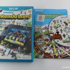 Nintendo Wii U: NINTENDO WII U NINTENDO LAND COMPLETO PAL ESPAÑA. Lote 272068503