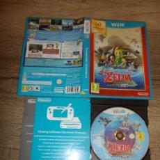 Nintendo Wii U: NINTENDO WII U THE LEGEND OF ZELDA THE WINDWAKER HD PAL ESP COMPLETO. Lote 272961073
