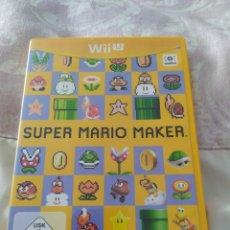Nintendo Wii U: SUPER MARIO MAKER WII U. Lote 273269573