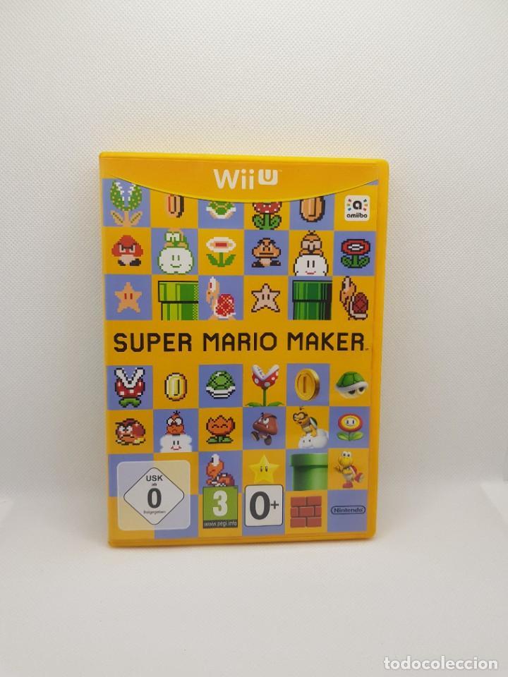 SUPER MARIO MAKER WII U (Juguetes - Videojuegos y Consolas - Nintendo - Wii U)