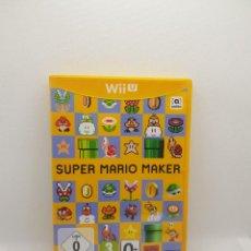 Nintendo Wii U: SUPER MARIO MAKER WII U. Lote 273273698