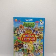 Nintendo Wii U: ANIMAL CROSSING AMIIBO FESTIVAL WII U. Lote 273277403