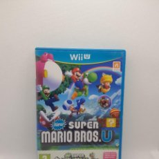 Nintendo Wii U: NEW SUPER MARIO BROS.U + SUPER LUIGI.U WII U PAL ESPAÑA. Lote 273278643