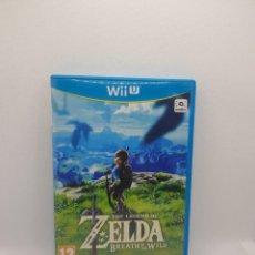 Nintendo Wii U: THE LEGEND OF ZELDA BREATH OF THE WILD WII U PAL ESP.. Lote 273281303