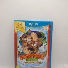 Nintendo Wii U: DONKEY KONG COUNTRY TROPICAL FREEZE WII U PAL ESP.. Lote 273282483