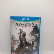 Nintendo Wii U: ASSASSINS CREED 3 WII U PAL ESP.. Lote 273283603