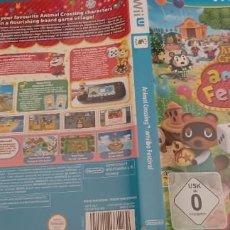 Nintendo Wii U: ANIMAL CROSSING AMIIBO FESTIVAL WII U. Lote 273521608
