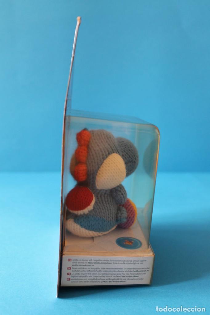 Nintendo Wii U: Nintendo Amiibo - Yoshis Wolly World Azul - Nuevo - Foto 2 - 274827918