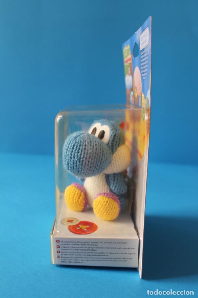 Nintendo Wii U: Nintendo Amiibo - Yoshis Wolly World Azul - Nuevo - Foto 4 - 274827918