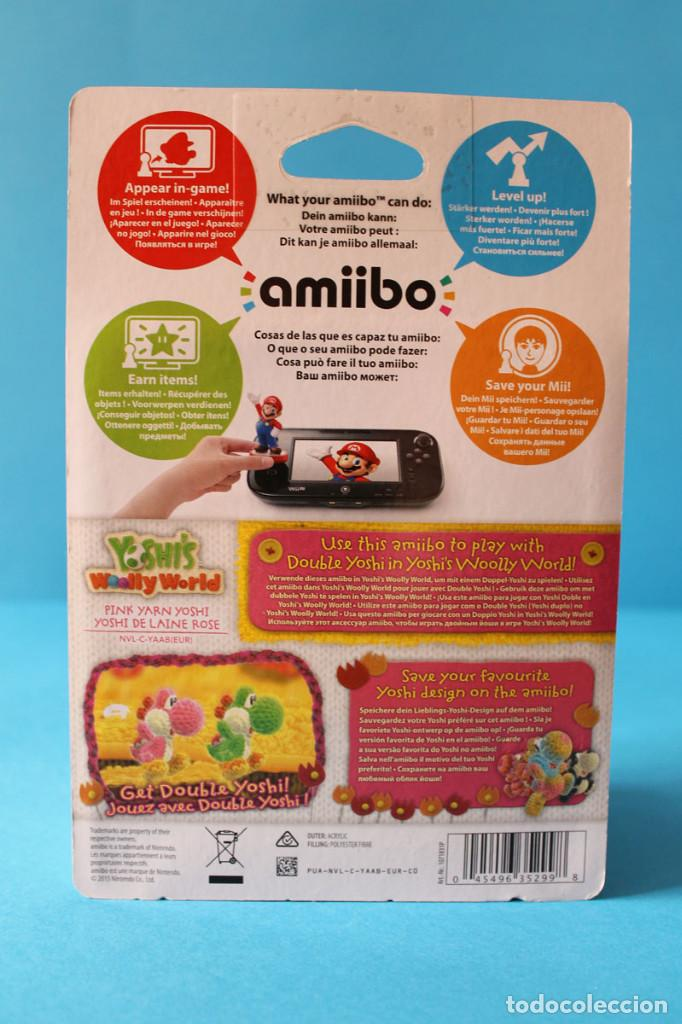 Nintendo Wii U: Nintendo Amiibo - Yoshis Wolly World Rosa - Nuevo - Foto 3 - 274827943