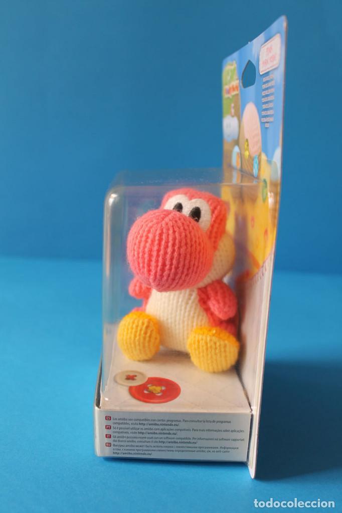 Nintendo Wii U: Nintendo Amiibo - Yoshis Wolly World Rosa - Nuevo - Foto 4 - 274827943