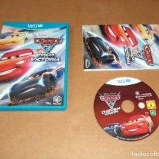 Nintendo Wii U: DISNEY PIXAR CARS 3 : HACIA LA VICTORIA , PARA NINTENDO WII U , PAL. Lote 274856043