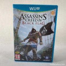 Nintendo Wii U: VIDEOJUEGO NINTENDO WII U - ASSASSIN'S CREED IV BLACK FLAG + CAJA + INSTRUCCIONES. Lote 276393833