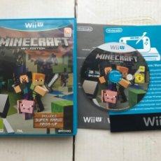 Nintendo Wii U: MINECRAFT WIIU EDITION - NINTENDO WII U KREATEN. Lote 276574883