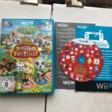 Nintendo Wii U: ANIMAL CROSSING AMIIBO FESTIVAL - NINTENDO WII U KREATEN. Lote 276575178