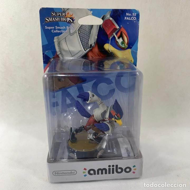 NINTENDO AMIIBO - FALCO - SUPER SMASH BROS. - N. 52 - NUEVO SIN ABRIR (Juguetes - Videojuegos y Consolas - Nintendo - Wii U)