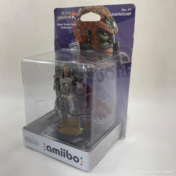 NINTENDO AMIIBO - GANONDORF - SUPER SMASH BROS. - N. 41 - NUEVO SIN ABRIR (Juguetes - Videojuegos y Consolas - Nintendo - Wii U)