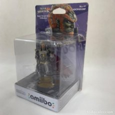 Nintendo Wii U: NINTENDO AMIIBO - GANONDORF - SUPER SMASH BROS. - N. 41 - NUEVO SIN ABRIR. Lote 278171408