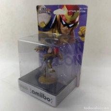 Nintendo Wii U: NINTENDO AMIIBO - CAPTAIN FALCON CAPITAN FALCON - SUPER SMASH BROS. - N. 18 - NUEVO SIN ABRIR. Lote 278171663