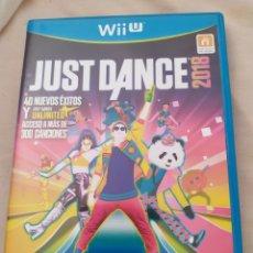 Nintendo Wii U: JUST DANCE 2018 WII U. Lote 278189558